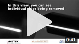 Ultra-precision micromilling with the Levicron high-speed spindle video